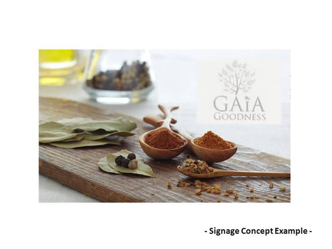 Gaia Logo and Spice